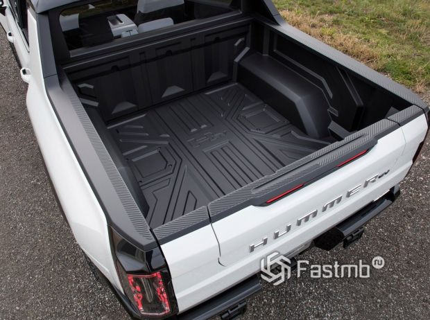 Hummer EV 2021, багажник пикапа
