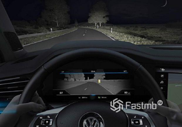 Установка внештатного комплекса ночного видения на автомобиль