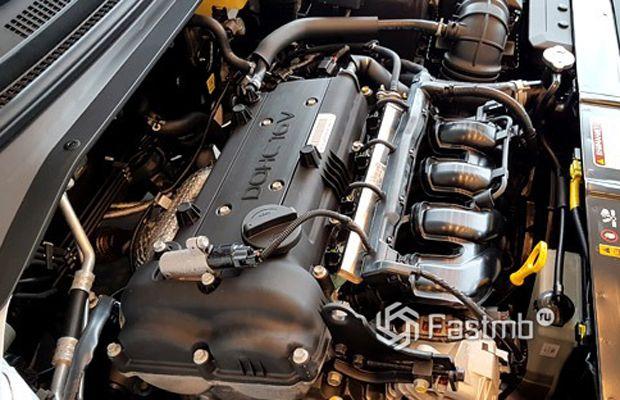 Kia Cerato 2016 рестайлинг, двигатель