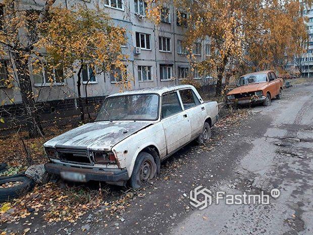 Утилизация старых автомобилей в России