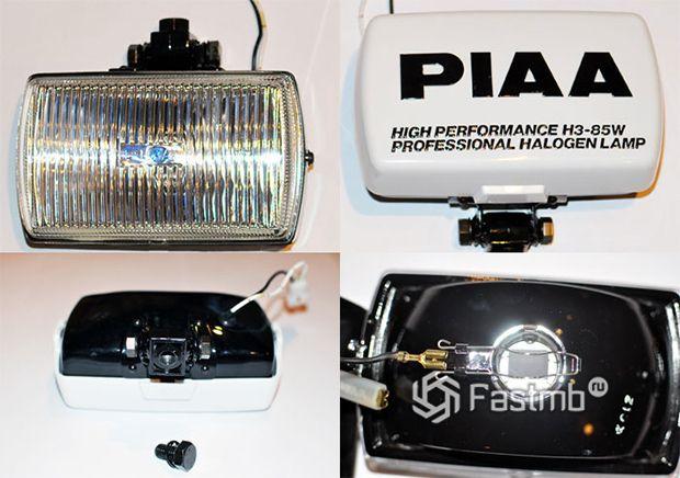 PIAA 50XT - дополнительная фара противотуманного света