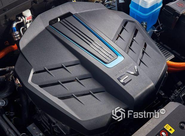 Hyundai Kona Electric 2021, электрический двигатель