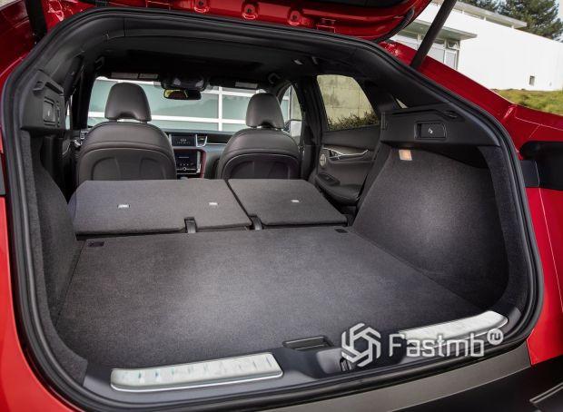 Infiniti QX55 2021, багажное отделение