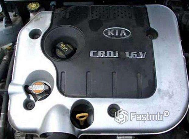 Kia Magentis 2006, двигатель