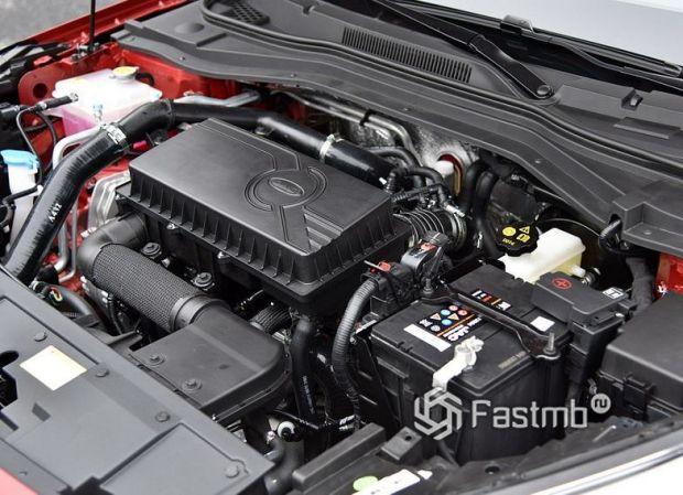 JAC J7 2020, двигатель лифтбека