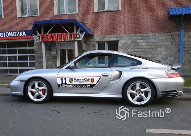 Porsche, детейлинг авто для пробега