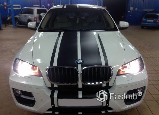 BMW X6, стилизация автомобиля