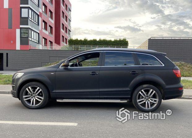 Audi Q7, матовая виниловая пленка