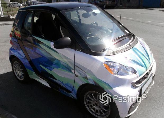 Smart ForTwo, полная оклейка кузова