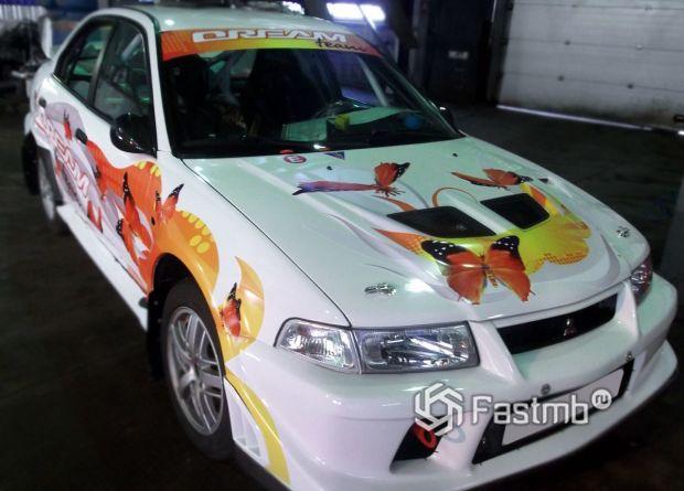 Mitsubishi Lancer, винилография на кузове