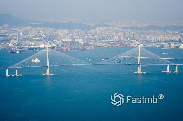 Инчхонский мост, Корея