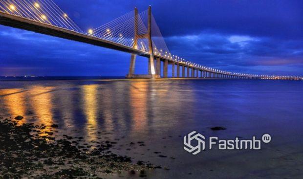 Мост Васко да Гама, Португалия
