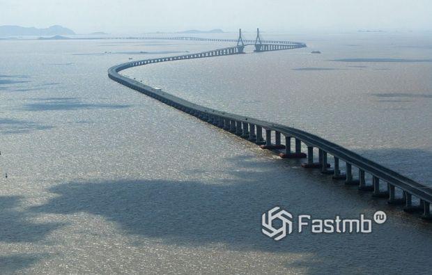 Мост Дунхай, Китай