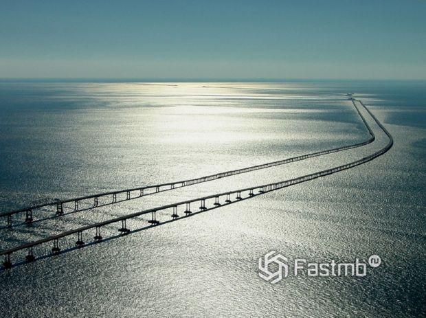 Туннельный мост через Чесапикский залив, США