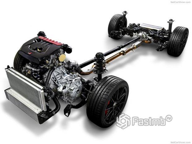 Toyota GR Yaris 2021, технические характеристики
