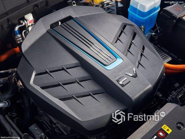 Kona Electric 2021, двигатель