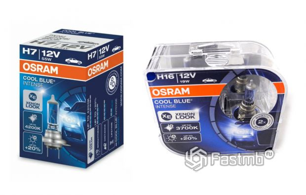 Псевдоксенон Osram Cool Blue Intense