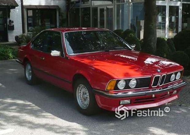 BMW 635 CSi, вид спереди