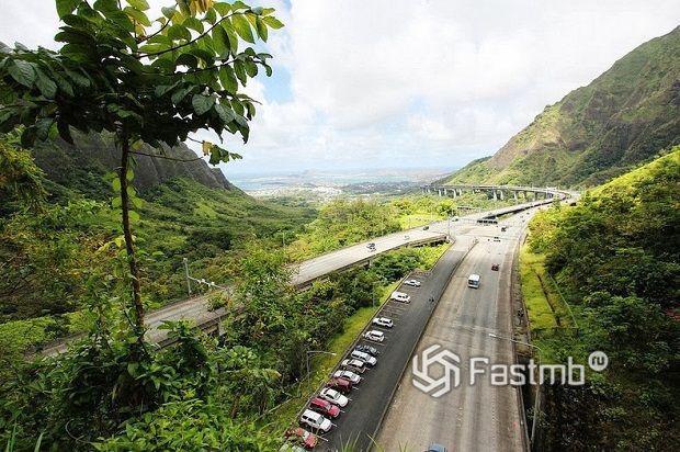 Шоссе H-3, Гавайи