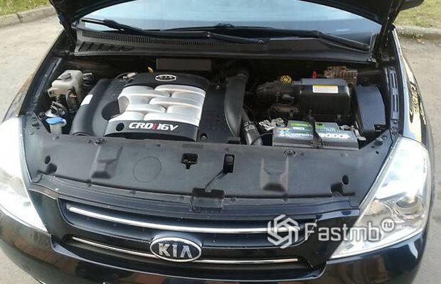 Kia Carnival 2006, двигатель минивэна