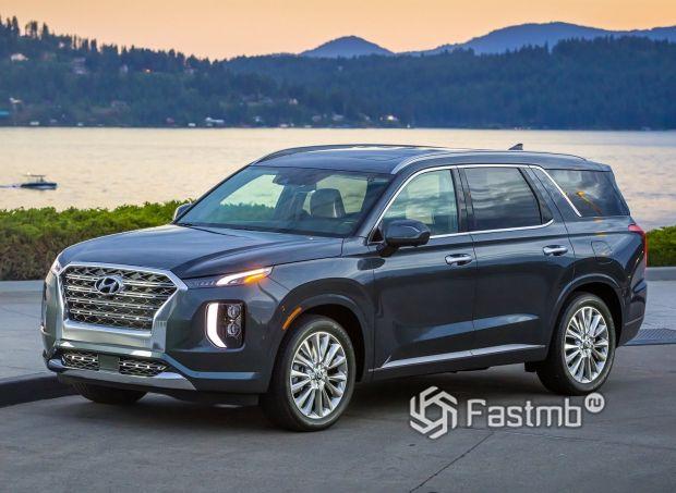 Hyundai Palisade 2020, вид спереди