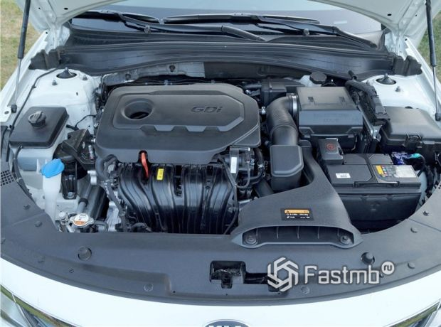 Kia Optima 2018, двигатель