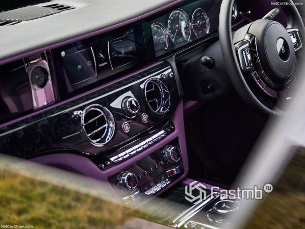 Салон Rolls-Royce Ghost 2021, медиасистема