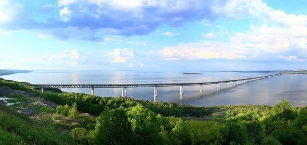Ульяновский Президентский мост