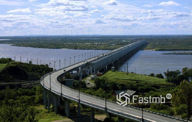 Хабаровский (Амурский) мост, ранее Алексеевский