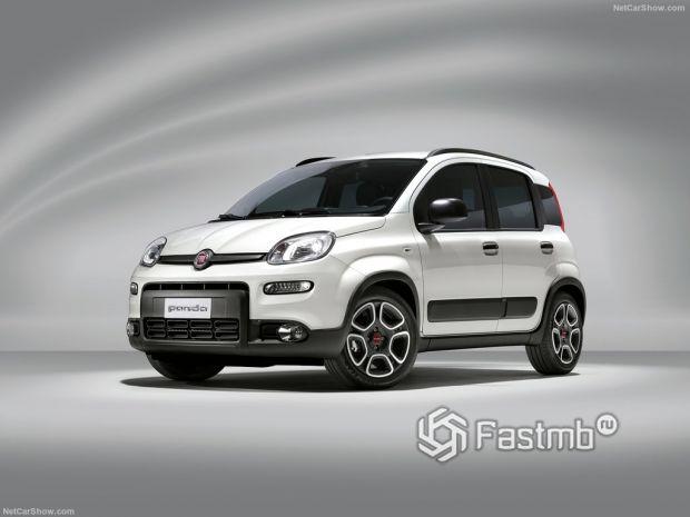Fiat Panda 2021 – стильный городской автомобильчик от Фиата