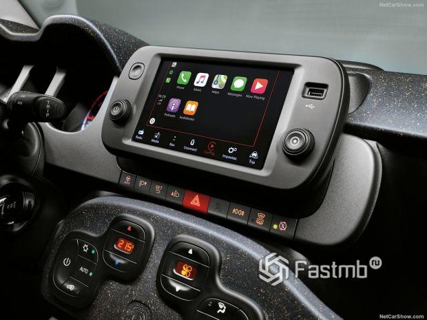 Салон Fiat Panda 2021, мультимедиа