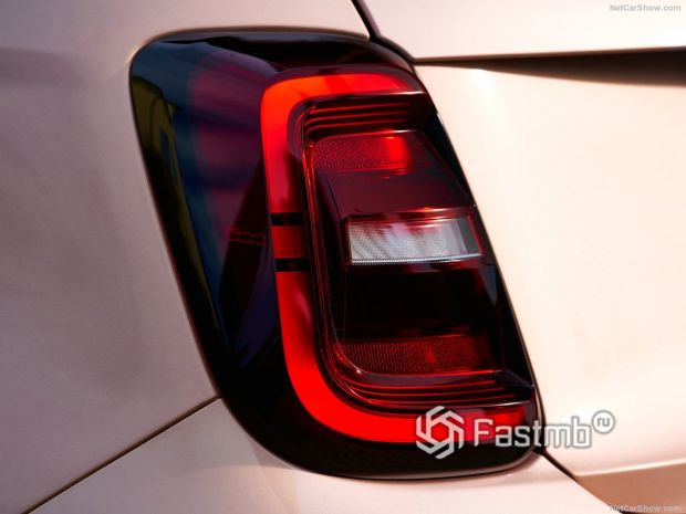 Fiat 500 3+1 2021, фары