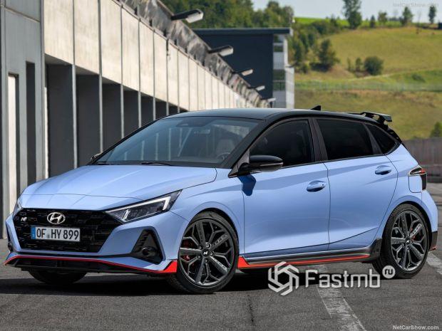 Hyundai i20 N 2021 – новый корейский «заряженный» хэтч