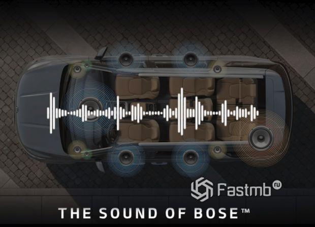 Kia Carnival 2021, аудиосистема Bose на 12 динамиков