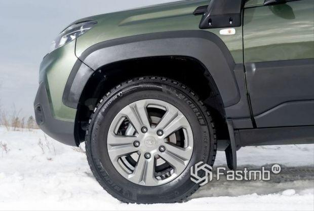 Lada Niva Travel 2021, колесные диски