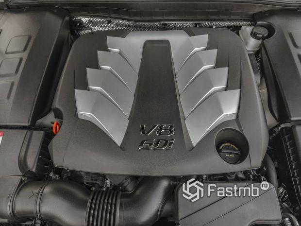 Kia K900 2013 для США, двигатель