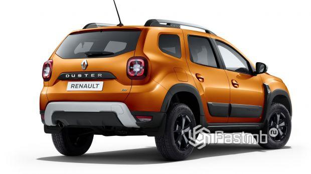 Renault Duster 2021, вид сзади