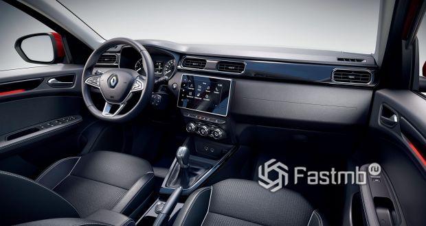 Renault Arkana 2020, передняя панель