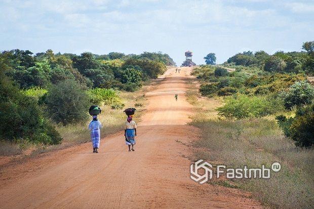дороги в бедных странах Африки