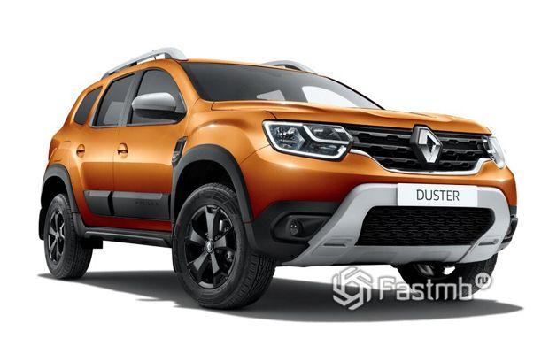 Renault Duster 2021, вид спереди