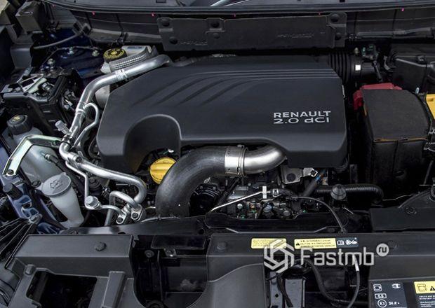 Renault Koleos 2017, двигатель