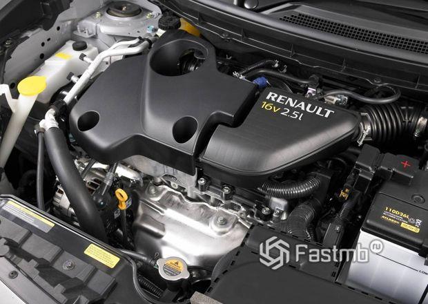 Renault Koleos 2007, двигатель
