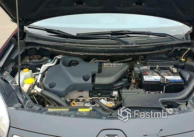 Renault Koleos 2013 2-ой рестайлинг, двигатель