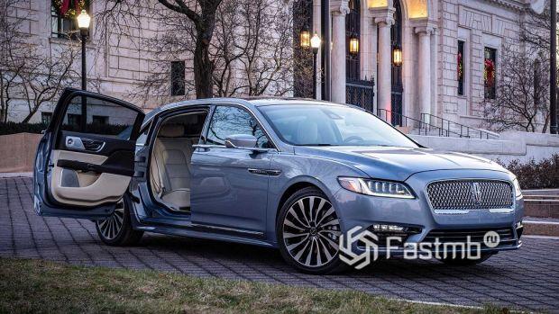 Автомобиль премиум-класса среднего размера: Lincoln Continental