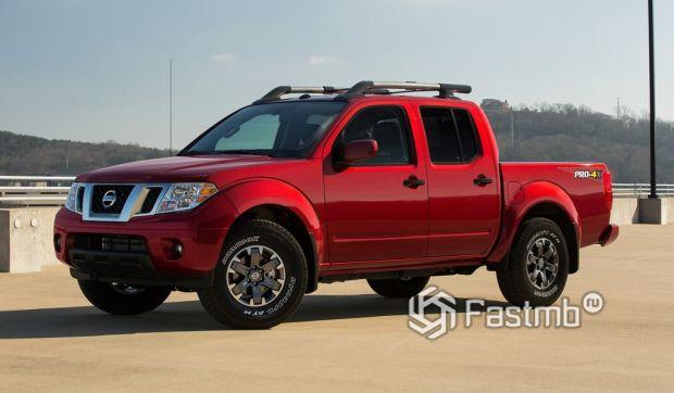 Среднеразмерный пикап: Nissan Frontier