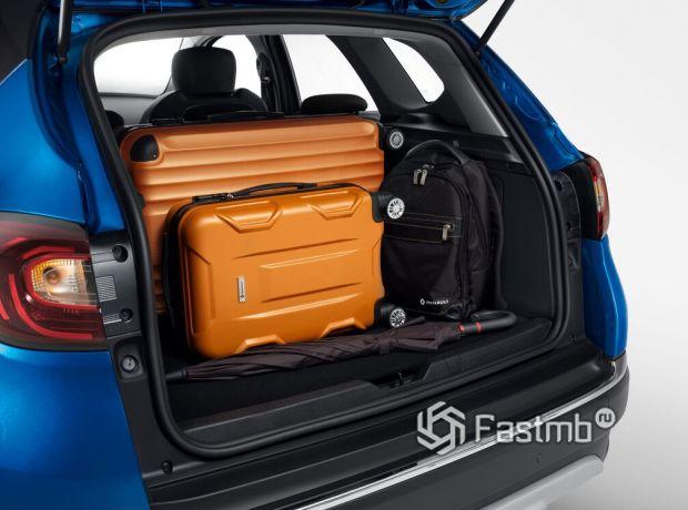 Renault Kaptur 2020 рестайлинг, багажное отделение