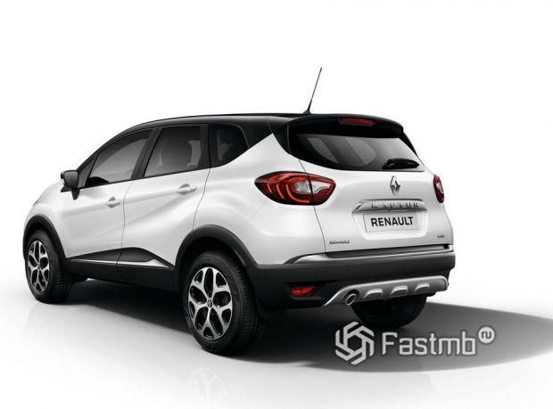 Renault Kaptur 2016, вид сзади