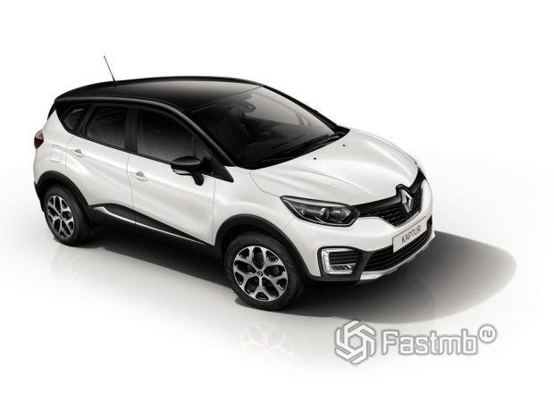 Renault Kaptur 2016, люк топливного бака