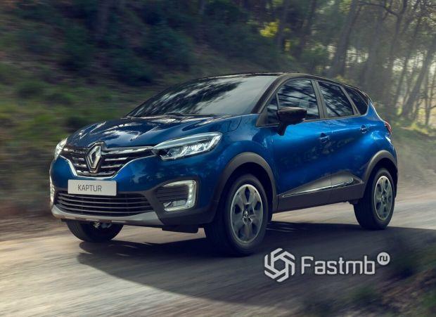 Renault Kaptur 2020 рестайлинг, передняя оптика