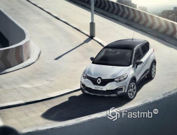 Renault Kaptur 2016, передняя оптика